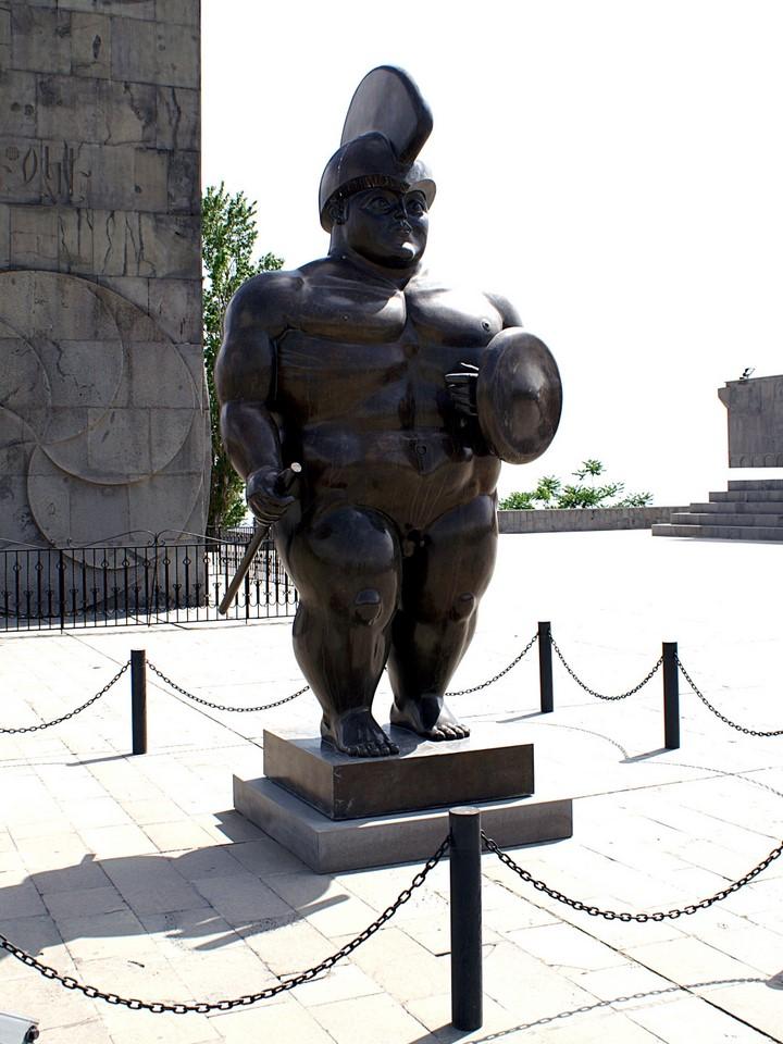Lihava roomalainen sotilas