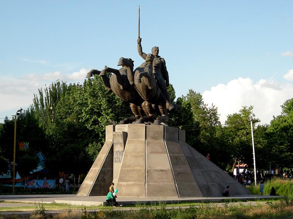 Andranik equestrian statue