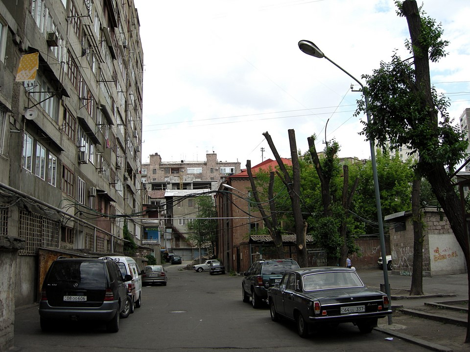 More building from the Soviet times