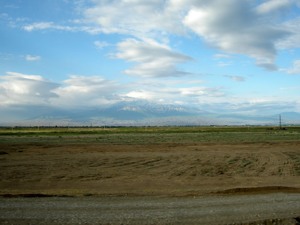 Ararat Plain with Mount Ararat itself in the background