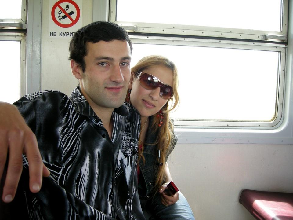 Nous avons également rencontré ce couple de Gyumri qui puis nous allaient montrer sa ville
