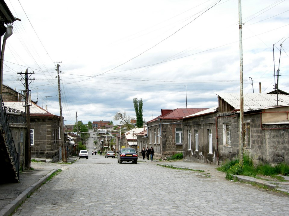 Houses in the old Gyumri have sustained the earthquakes quite well
