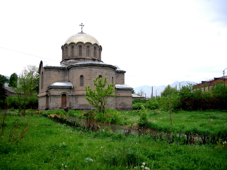 The Russian church of Vanadzor is named after Nativity of the Virgin Mary