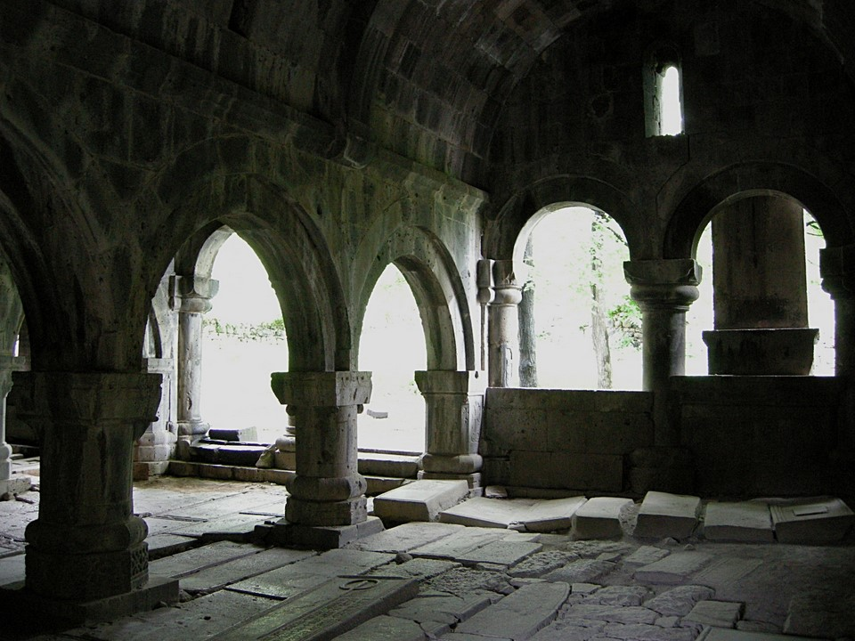 Gavit (narthex) of Surp Astvatsatsin (Church of the Holy Mother of God)