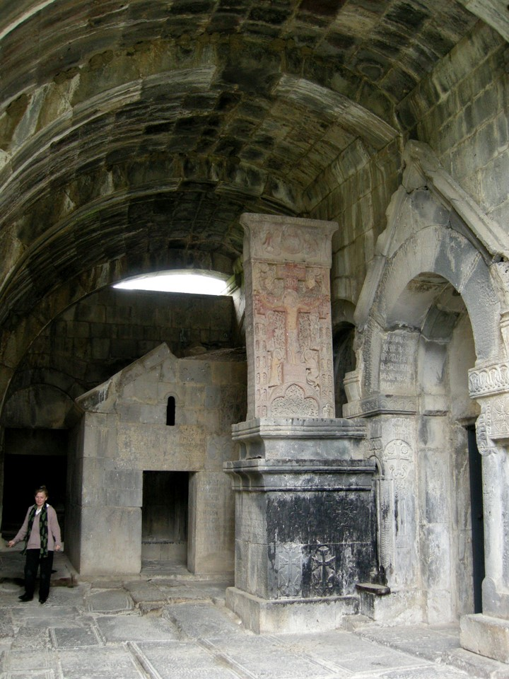 Prayer room and the Amenarpkich (All Saviour) khachkar