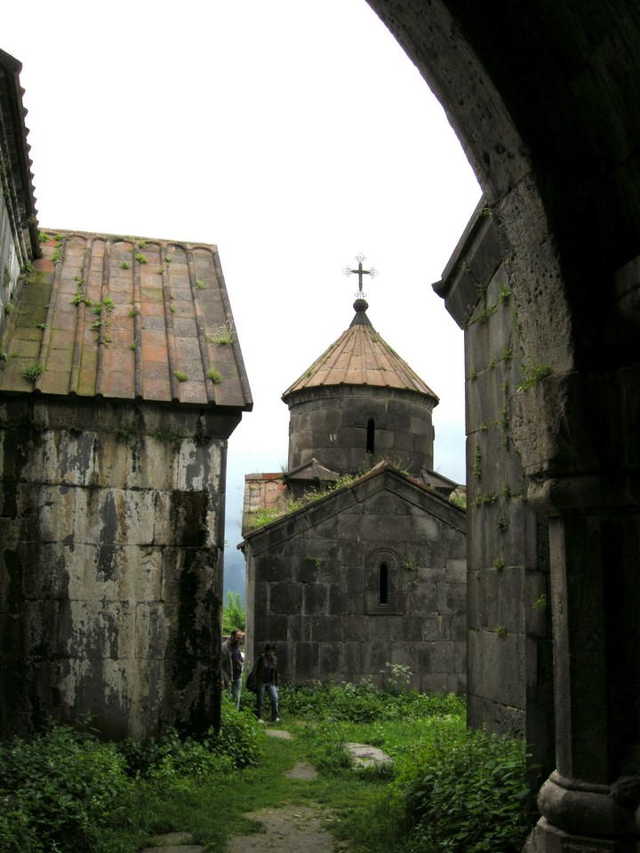 Some of the buildings at Haghpat monastery premises