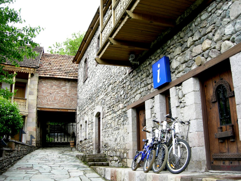 Dilijan tourist information office is located at Sharambeyan Street
