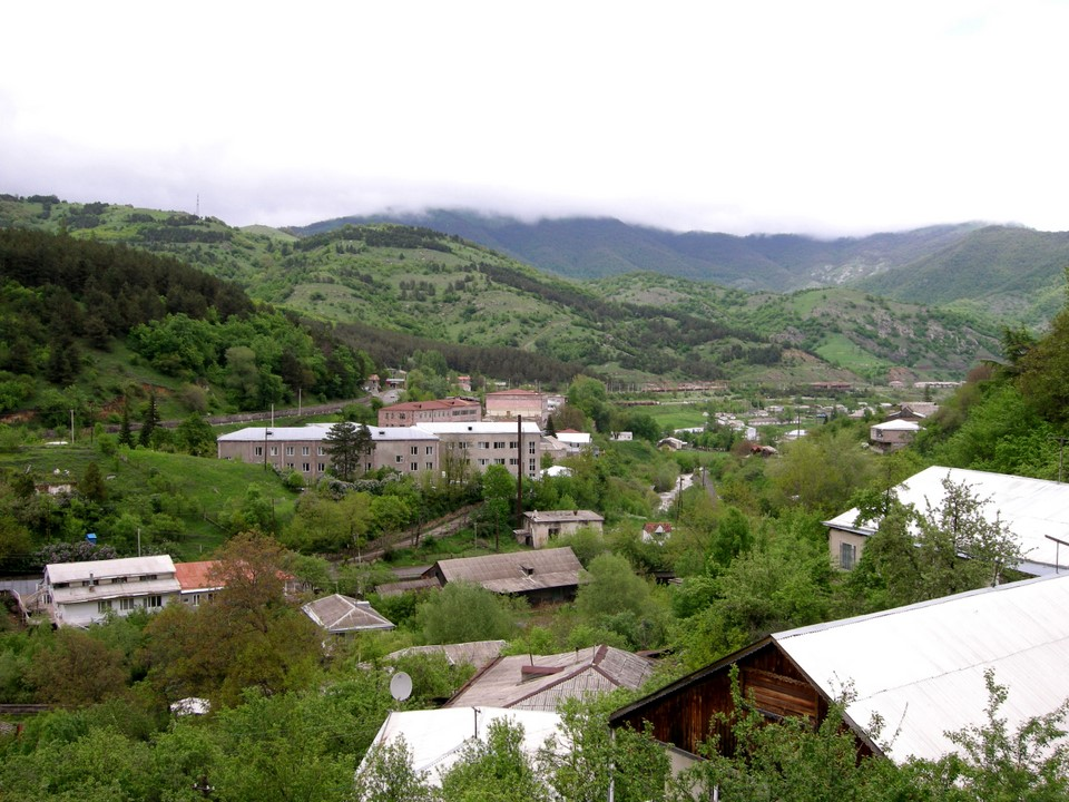 Dilijan is located in the valley of Aghstafa River