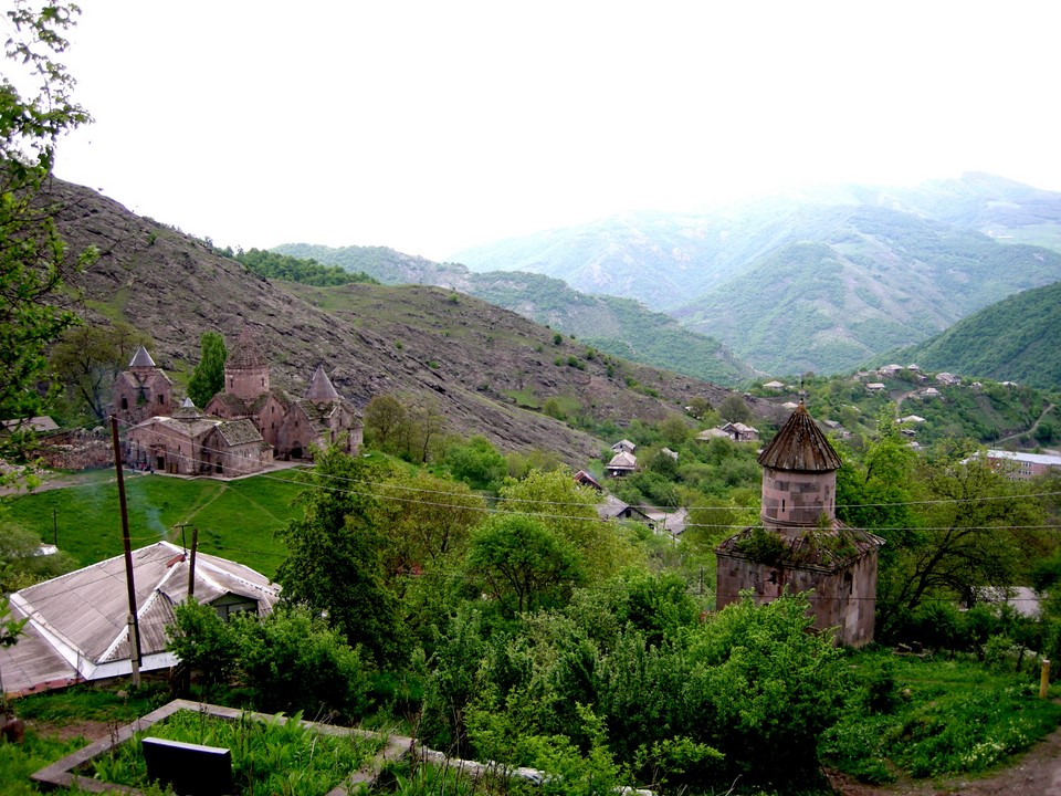 Goshavank Monastery and the Chapel of St Hripsime which is located a bit off the rest of the monastery
