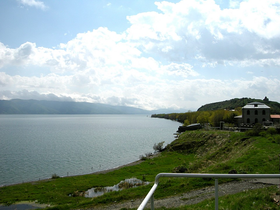 Northern shore of the peninsula and Lake Sevan