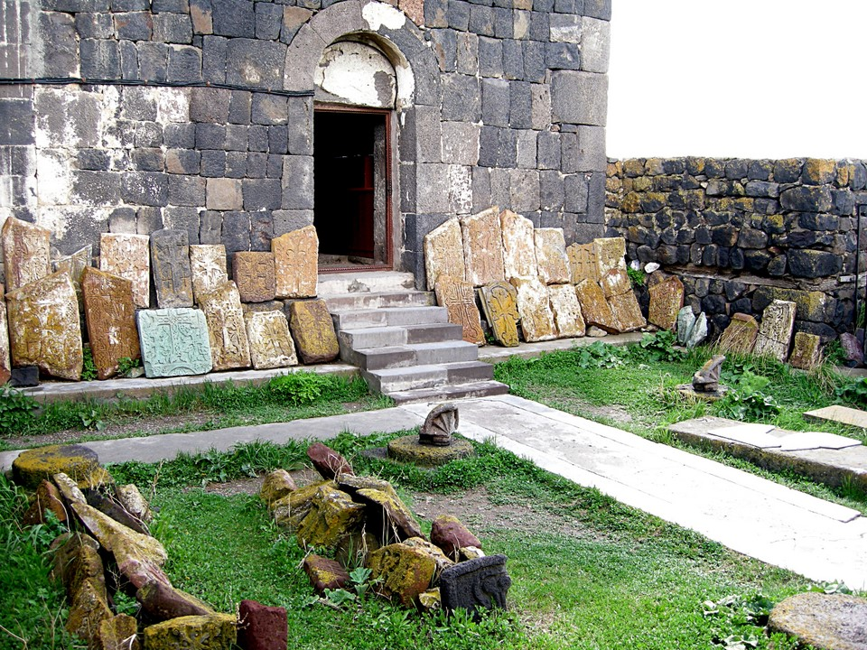 Front yard of Astvatsatsin Church