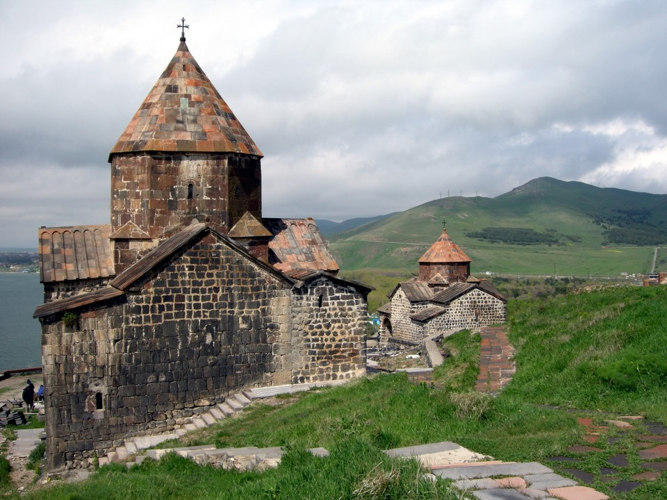 Both churches of Sevanavank
