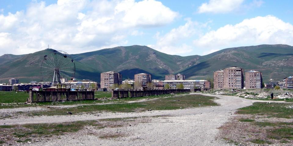 Quelques immeubles de Sevan