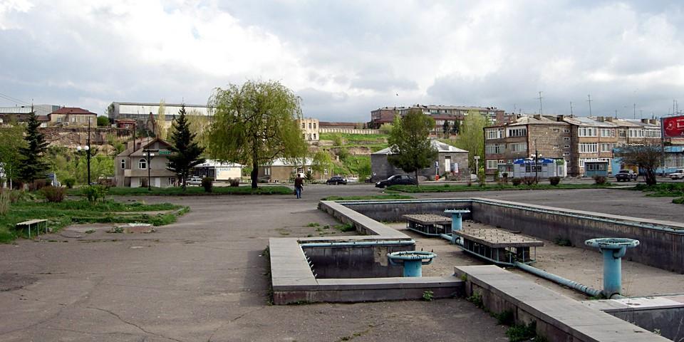 Gavar central square
