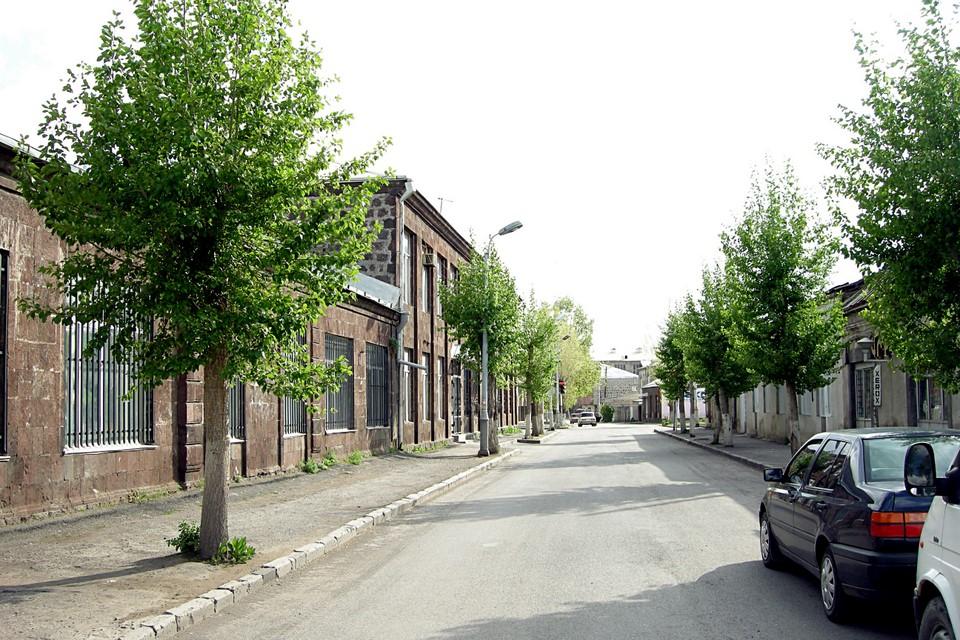 Street in Gavar