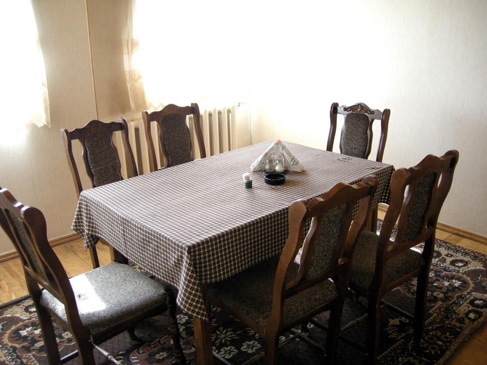Meillä oli jopa oma ruokasali