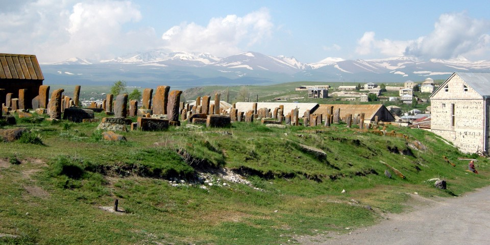 Noraduz cemetery is known for its old khachkars