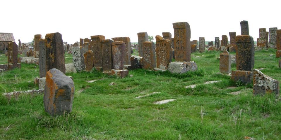 Khachkars at Noraduz cemetery
