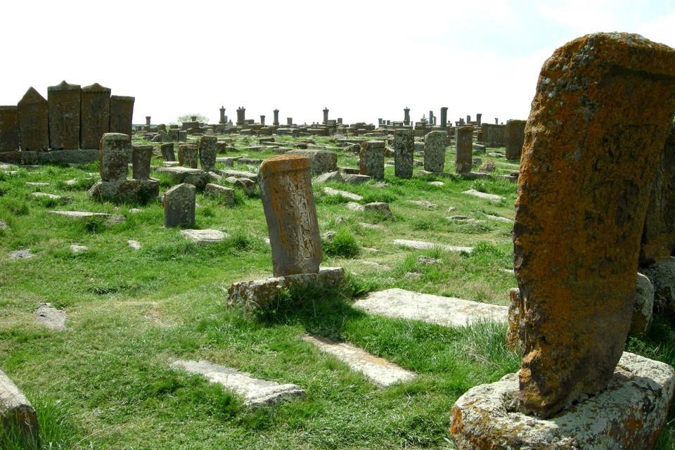 More old khachkar stones