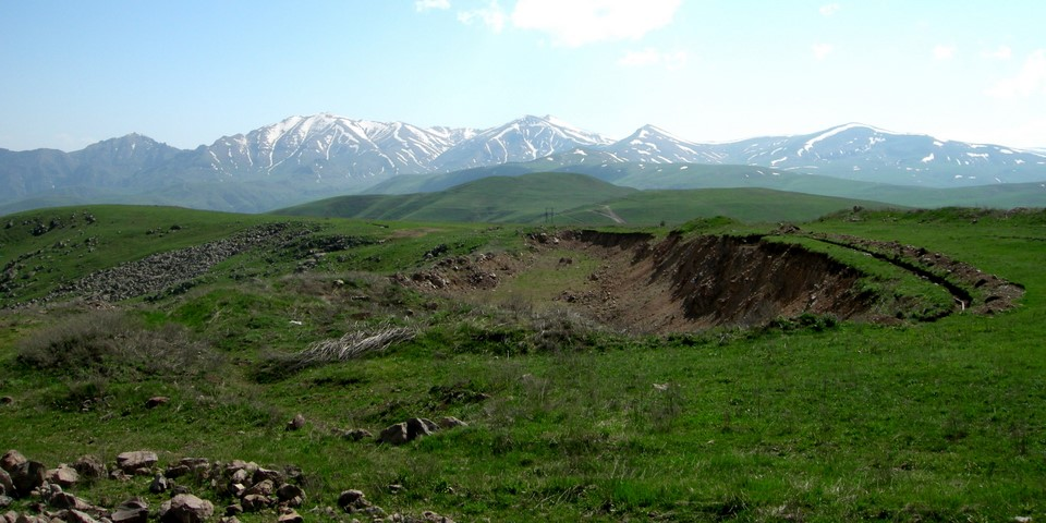 Selim Mountains view