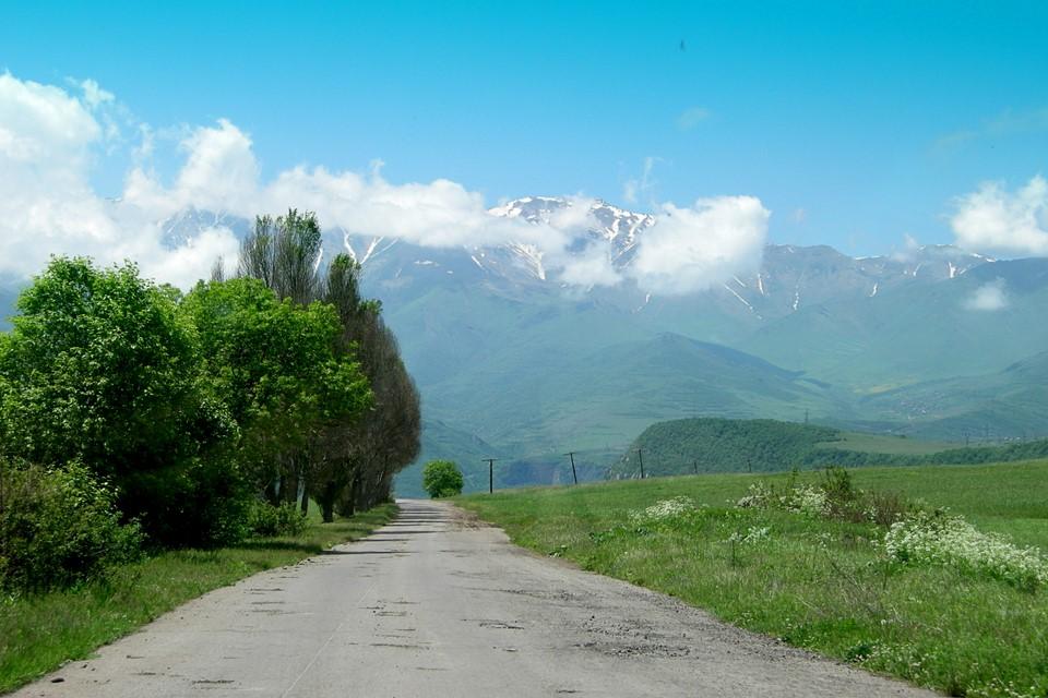 Le chemin de Goris à Tatev