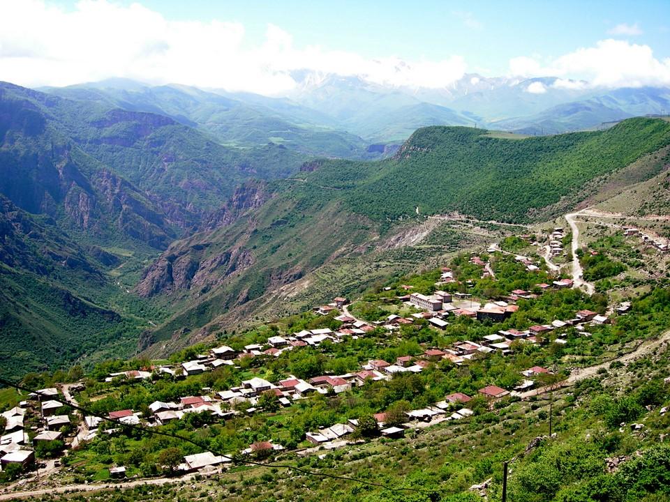 Le village d'Halidzor