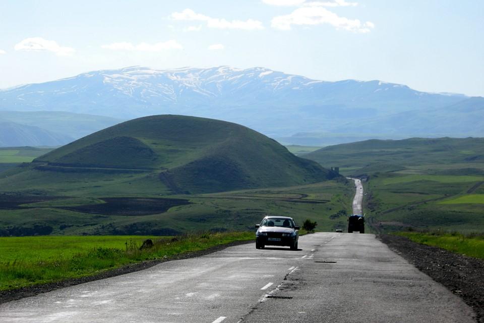 Le chemin entre Goris et Sisian