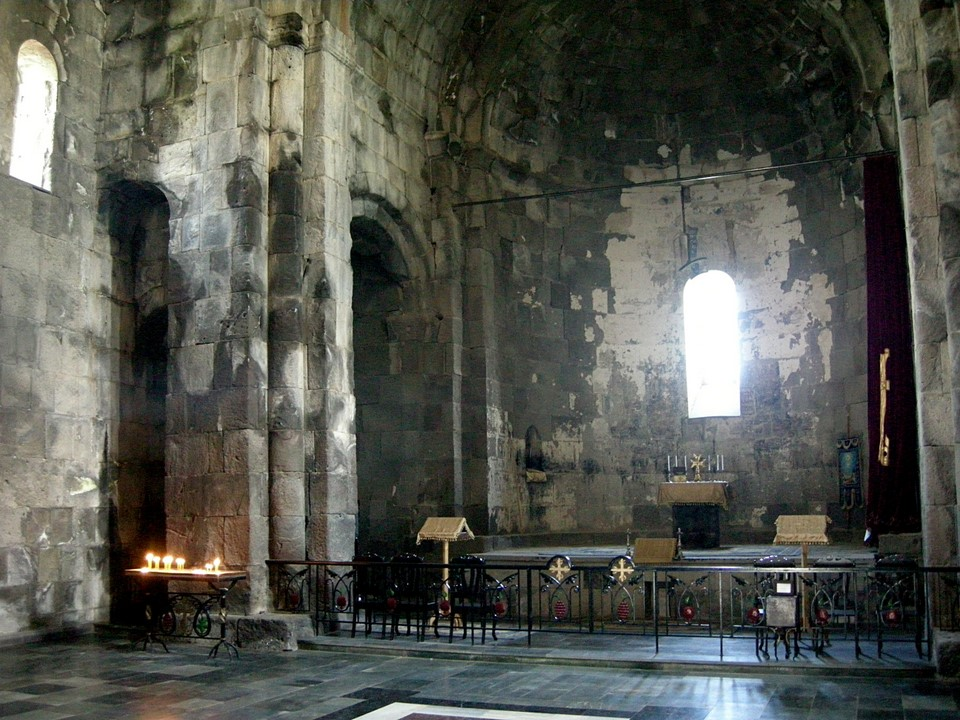 Inside the Poghos-Petros Church