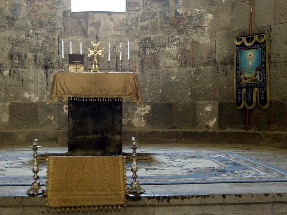 Astvatsatsin Church altar