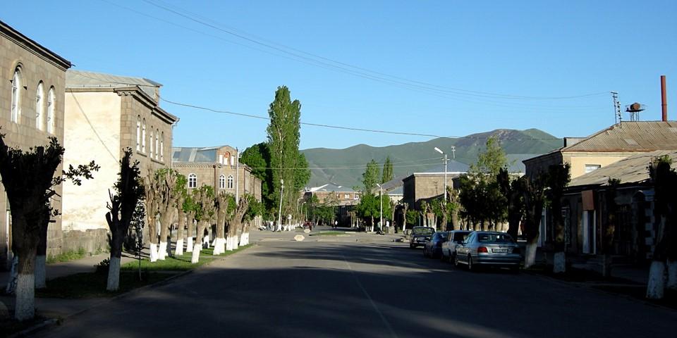 Streetviews from Sisian