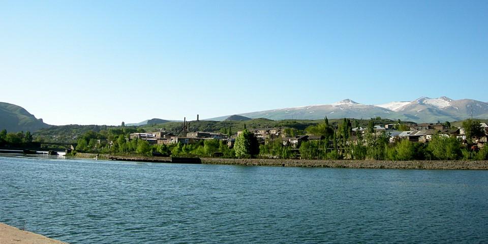 Reservoir in the Vorotan River