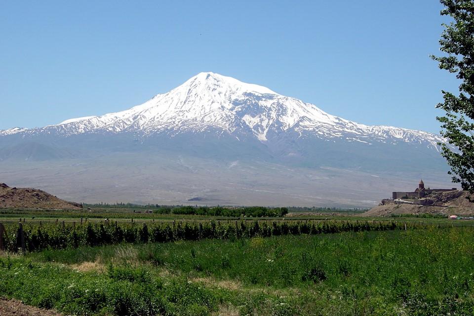 Ararat-vuori ja Khor Virap