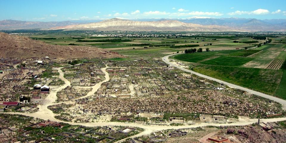 Ruines de la ville ancienne Artachat