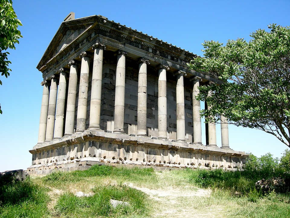 Garni Temple, another view