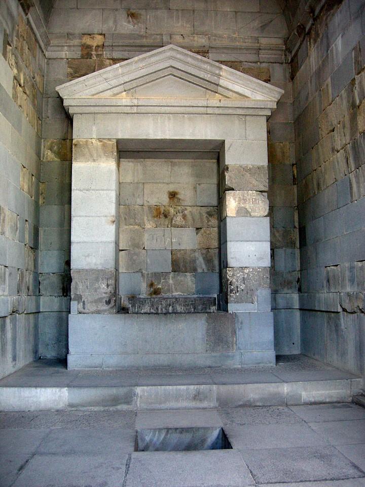 Temppelin alttari