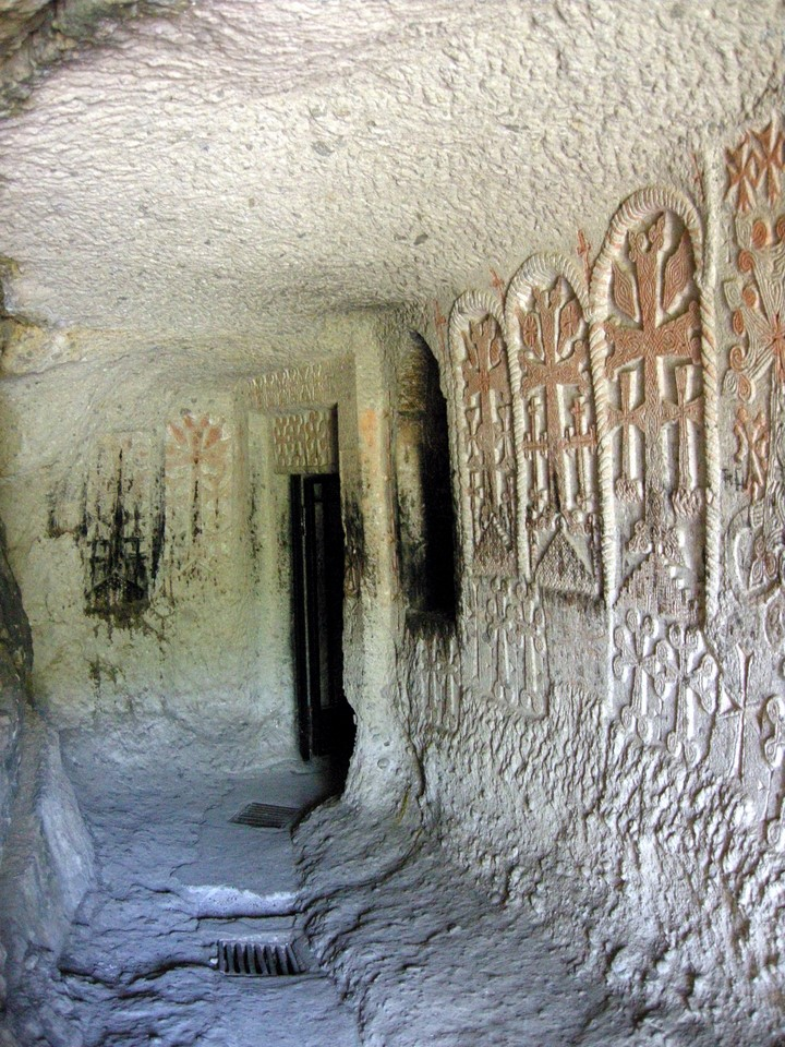 Corridor in the rock