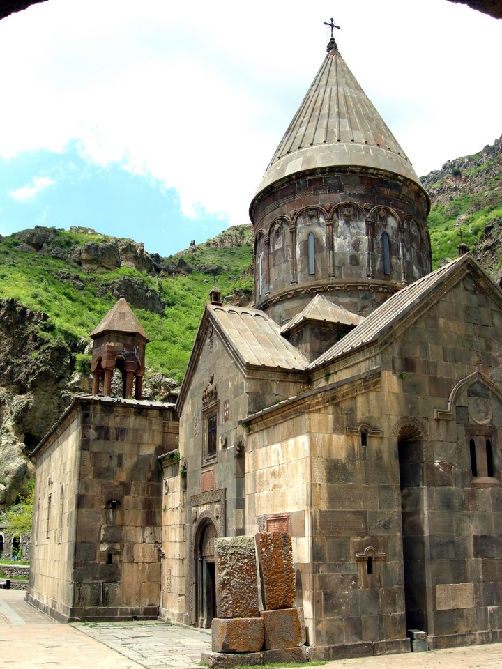 Katoghike, the main church of the monastery