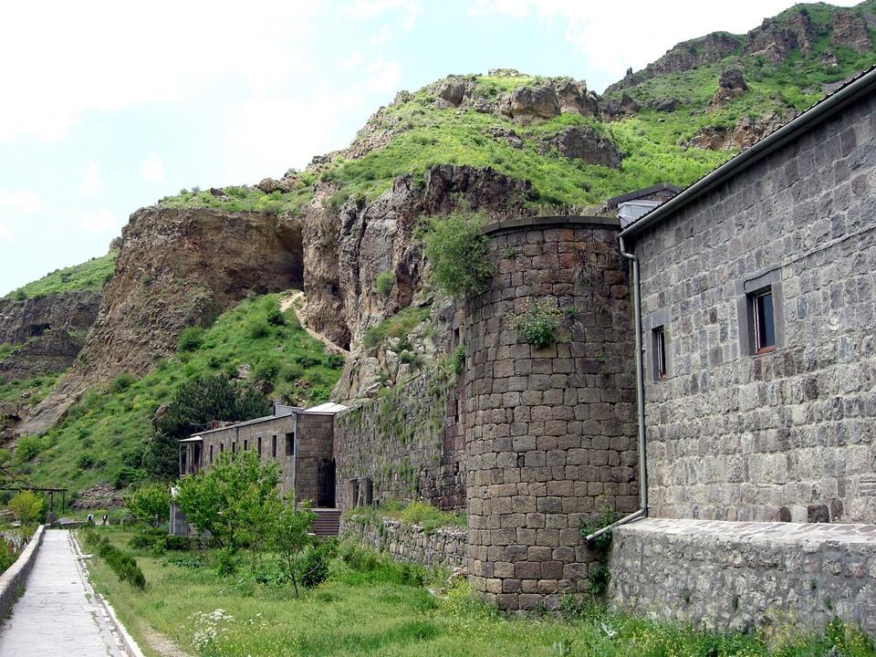 Le mur du monastère