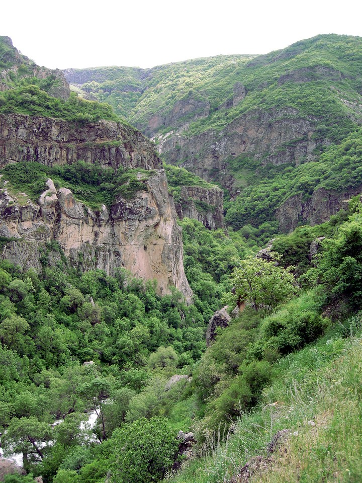 Azat river valley