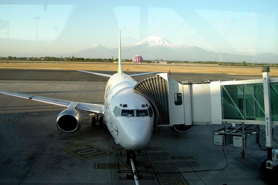 Le vol d'Air Baltic d'Erevan à Riga