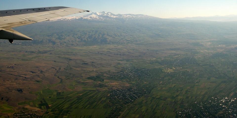 Paysage de l'Arménie de l'ouest