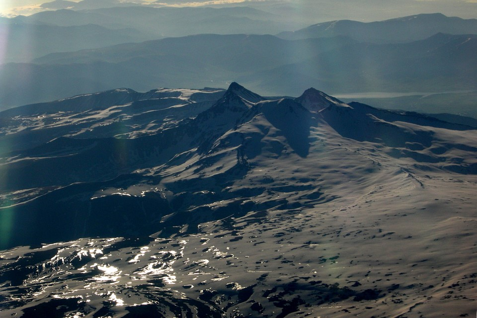 Montagnes neigeuses