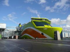 Tallink Superstar Jätkäsaarenlaiturissa