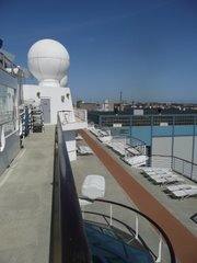 Weather ball and side deck