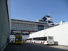 Buses and the ship
