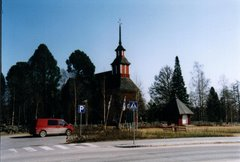 Old church of Keuruu