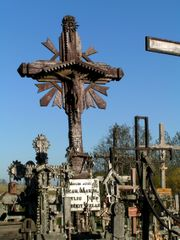 Decorated crucifix