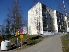 Block of flats on Laajavuori hill