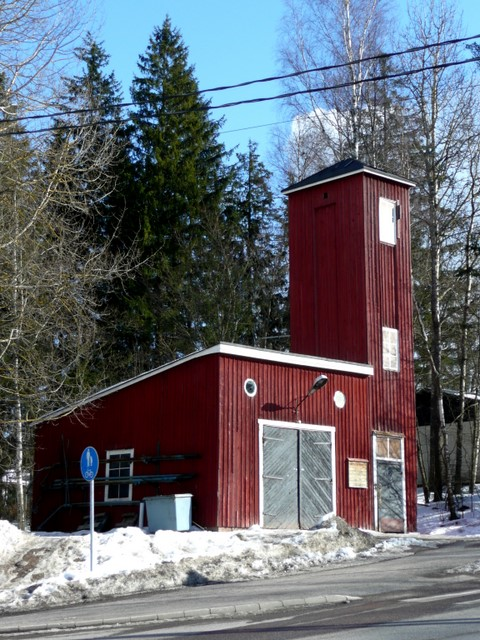 Vieille caserne de pompiers
