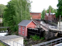 Mill and hydropower plant